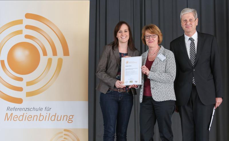 """Verleihung der Auszeichnung """"Referenzschule für Medienbildung"""""""
