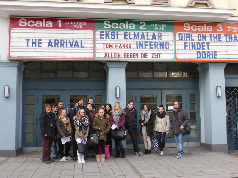 """Schüler der BFS für Sozialpflege besuchen das Theaterstück """"Dossier: Ronald Akkerman"""""""